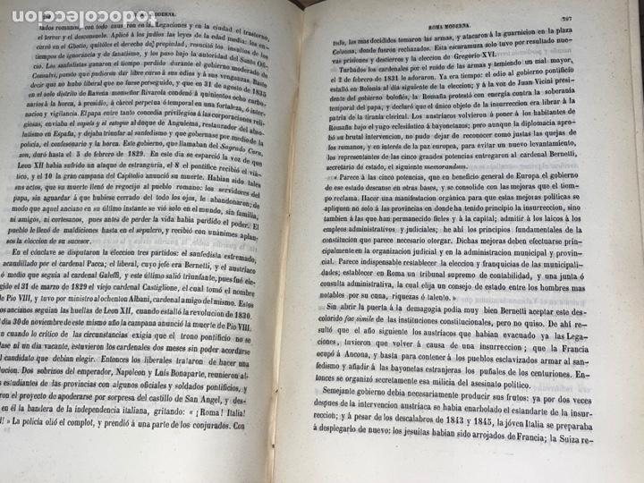 Libros antiguos: L- Roma Antigua y Moderna. Mary Lafon, 1857. La tapa del libro no es la original. - Foto 18 - 277417358