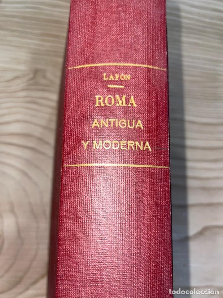 L- ROMA ANTIGUA Y MODERNA. MARY LAFON, 1857. LA TAPA DEL LIBRO NO ES LA ORIGINAL. (Libros antiguos (hasta 1936), raros y curiosos - Historia Antigua)