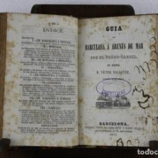 Libros antiguos: CATALUÑA ANTIGUA Y MODERNA DEL COMERCIO DE LOS CATALANES POR LLOBET IMPRENTA JAIME JEPÚS 1866. Lote 277568073