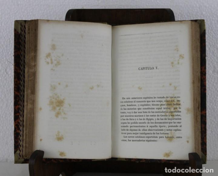 Libros antiguos: Cataluña antigua y moderna del comercio de los catalanes por Llobet imprenta Jaime Jepús 1866 - Foto 2 - 277568073