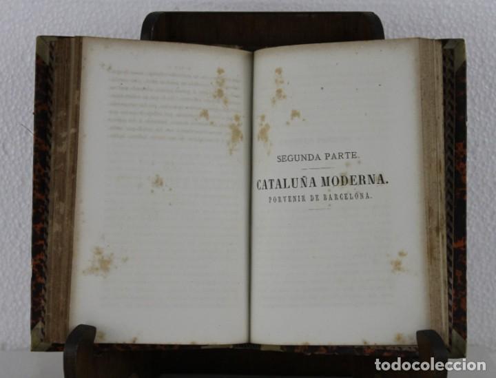Libros antiguos: Cataluña antigua y moderna del comercio de los catalanes por Llobet imprenta Jaime Jepús 1866 - Foto 3 - 277568073