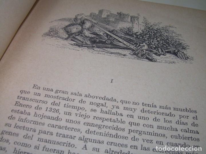 Libros antiguos: CRONICAS MEDIOEVALES...LIBRO AÑOS 20... EPOCA MODERNISTA... CON GRABADOS...VER FOTOS. - Foto 3 - 277572418