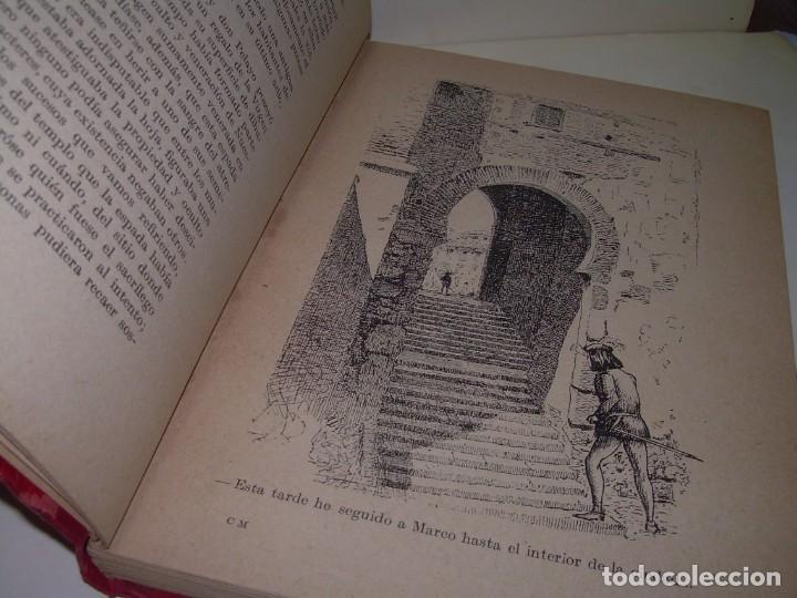 Libros antiguos: CRONICAS MEDIOEVALES...LIBRO AÑOS 20... EPOCA MODERNISTA... CON GRABADOS...VER FOTOS. - Foto 5 - 277572418