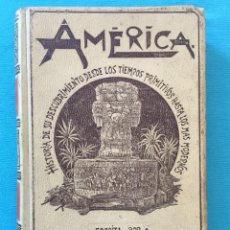 Libros antiguos: AMERICA HISTORIA DE SU DESCUBRIMIENTO DESDE LOS TIEMPOS PRIMITIVOS HASTA LOS MAS MODERNOS. TOMO III. Lote 277606018