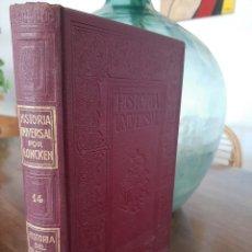 Libros antiguos: HISTORIA UNIVERSAL G. ONCKEN TOMO 14 HISTORIA DEL ISLAMISMO II.ED. MONTANER Y SIMON 1918. Lote 277632698