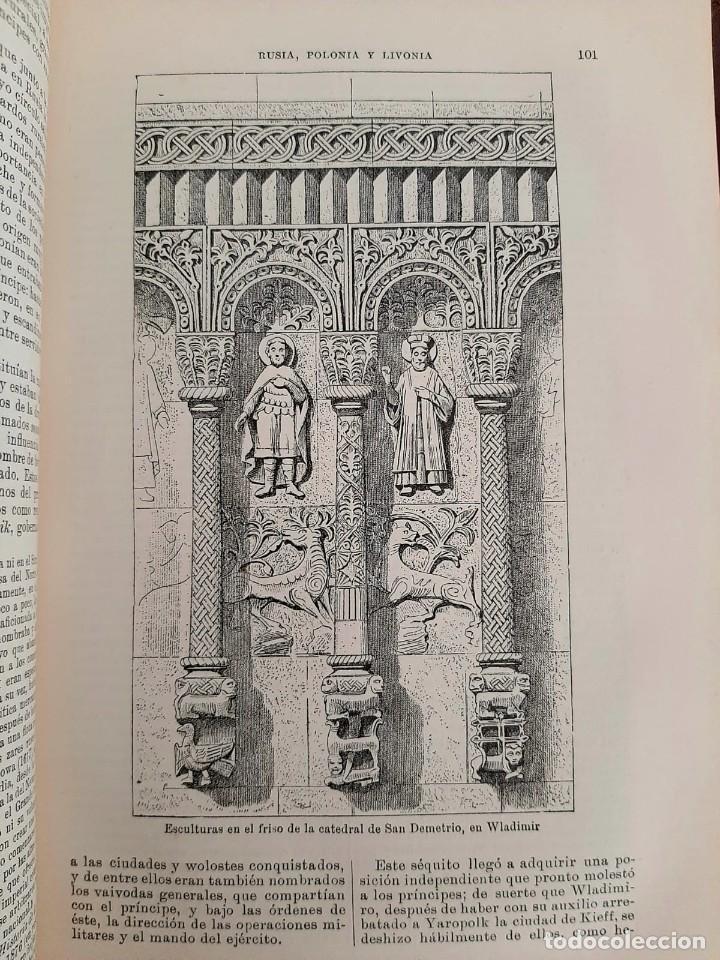 Libros antiguos: HISTORIA UNIVERSAL G. ONCKEN TOMO 20 RUSIA, POLONIA Y LIVONIA.ED. MONTANER Y SIMON 1919 - Foto 4 - 277633218