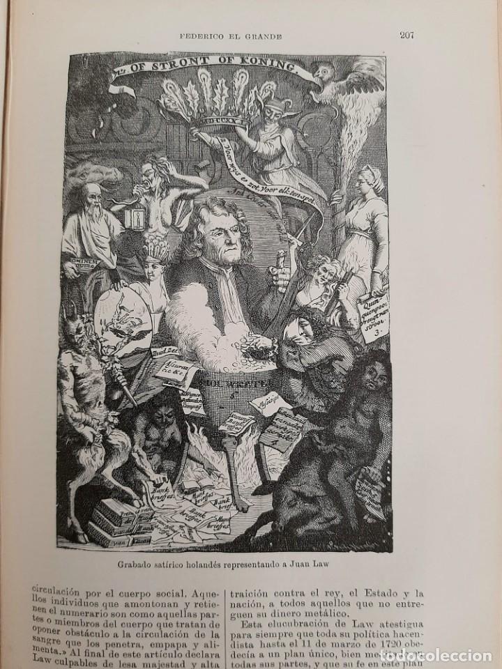 Libros antiguos: HISTORIA UNIVERSAL G. ONCKEN TOMO 28 ALEMANIA DE PAZ WESTFALIA A FEDERICO .ED. MONTANER Y SIMON 1920 - Foto 3 - 277635688