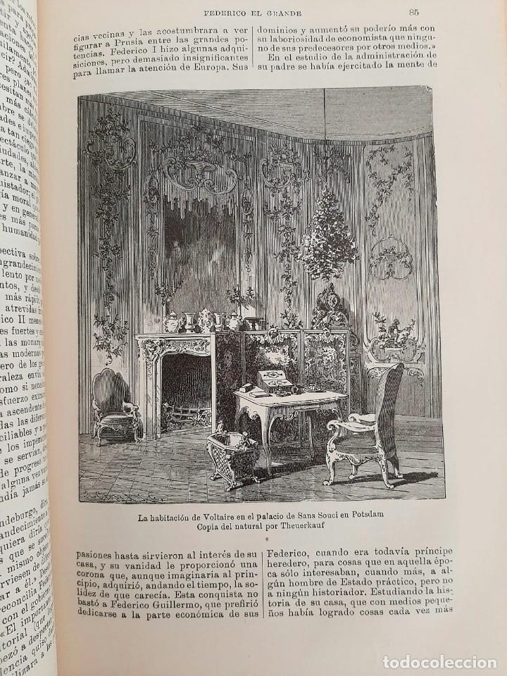 Libros antiguos: HISTORIA UNIVERSAL G. ONCKEN TOMO 29 EPOCA DE FEDERICO EL GRANDE .ED. MONTANER Y SIMON 1920 - Foto 3 - 277636118