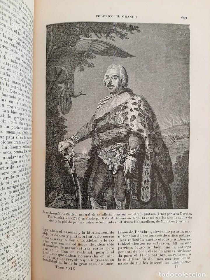 Libros antiguos: HISTORIA UNIVERSAL G. ONCKEN TOMO 29 EPOCA DE FEDERICO EL GRANDE .ED. MONTANER Y SIMON 1920 - Foto 4 - 277636118