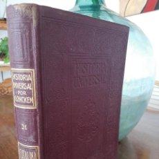 Libros antiguos: HISTORIA UNIVERSAL G. ONCKEN TOMO 31 CATALINA II .ED. MONTANER Y SIMON 1920. Lote 277636753