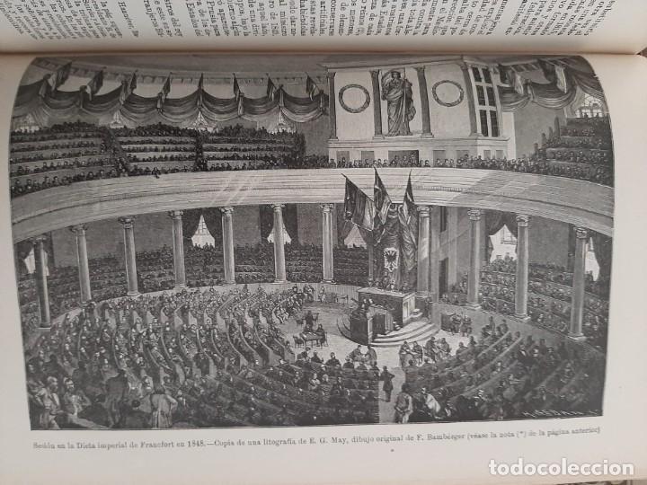 Libros antiguos: HISTORIA UNIVERSAL G. ONCKEN TOMO 35 EPOCA RESTAURACIÓN Y REVOLUCIÓN .ED. MONTANER Y SIMON 1921 - Foto 5 - 277690603