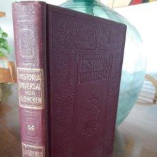 Libros antiguos: HISTORIA UNIVERSAL G. ONCKEN TOMO 44 GUERRA 1914 .ED. MONTANER Y SIMON 1921. Lote 277692693