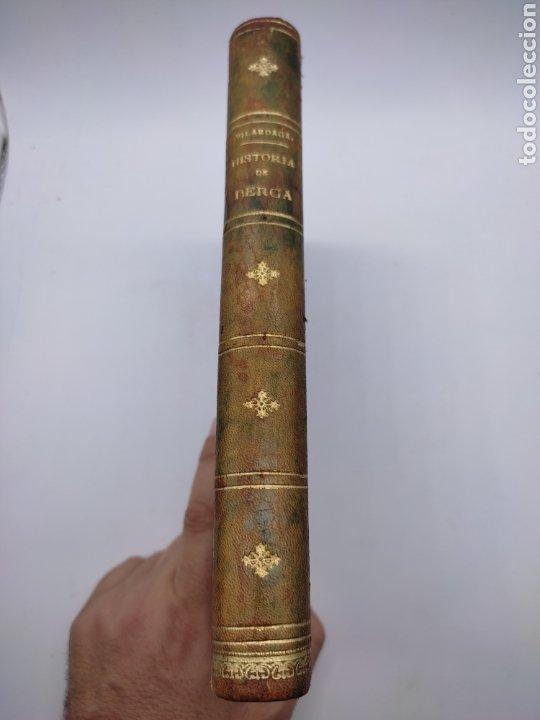 HISTORIA DE BERGA Y BREVES NOTICIAS DE SU COMARCA 1890 (Libros antiguos (hasta 1936), raros y curiosos - Historia Antigua)