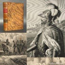 Libros antiguos: AÑO 1862 - ESPAÑA ARABE - REYES CATOLICOS - CRUZADAS - HISTORIA DE ESPAÑA. Lote 278136238