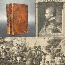 Libros antiguos: AÑO 1776 - LA ARAUCANA - ALONSO DE ERCILLA - HISTORIA DE LA CONQUISTA DE CHILE - SANCHA. Lote 278156428