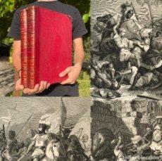Libros antiguos: AÑO 1855 - LA JERUSALEM LIBERTADA - HISTORIA DE LAS CRUZADAS - FOLIO - BELLAS LAMINAS - POESÍA ÉPICA. Lote 278171248