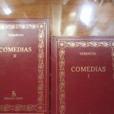 Libros antiguos: TERENCIO. COMEDIAS. GREDOS. Lote 278271828