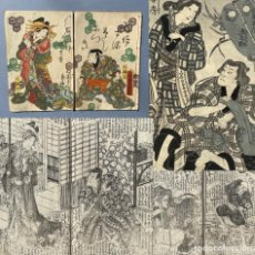 Libros antiguos: 1861 - USUOMOKAGE MABOROSHI NIKKI - MANGA - LIBRO ANTIGUO JAPONÉS - JAPÓN - ILUSTRADO. Lote 278344508