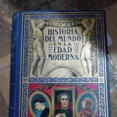 Libros antiguos: HISTORIA DEL MUNDO EN LA EDAD MODERNA, TOMO L. Lote 285060323