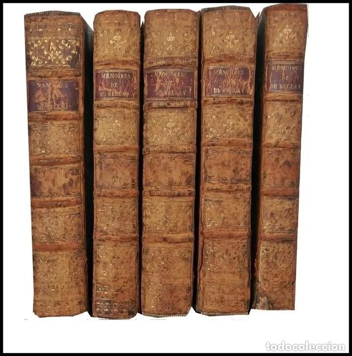 AÑO 1786: 5 TOMOS DE HISTORIA DEL SIGLO XVIII. (Libros antiguos (hasta 1936), raros y curiosos - Historia Antigua)