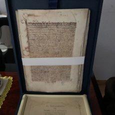 Libros antiguos: TESTAMENTO DE ISABEL LA CATÓLICA. Lote 286720148