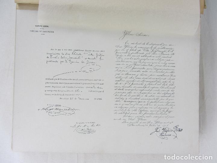 """Libros antiguos: """"Vida Gráfica de Nuestro Señor Jesucvristo"""" por D. Ramón B. Girón Barcelona 1904 - 1905 - Foto 6 - 288716413"""