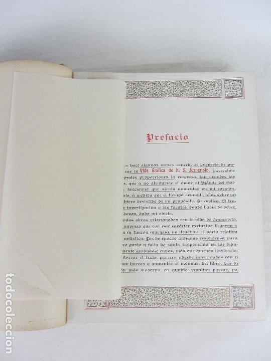"""Libros antiguos: """"Vida Gráfica de Nuestro Señor Jesucvristo"""" por D. Ramón B. Girón Barcelona 1904 - 1905 - Foto 8 - 288716413"""