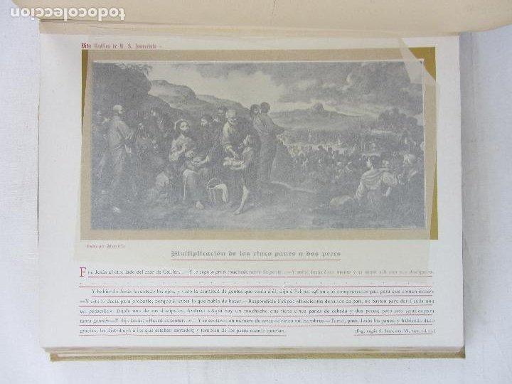 """Libros antiguos: """"Vida Gráfica de Nuestro Señor Jesucvristo"""" por D. Ramón B. Girón Barcelona 1904 - 1905 - Foto 9 - 288716413"""