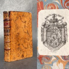 Libros antiguos: 1774 - PRINCIPIOS DE LITERATURA - EX LIBRIS DE LA FAMILIA GRAMONT -. Lote 289211953