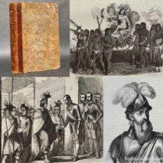 Libros antiguos: 1851 - VIAJES DE CRISTOBAL COLON - CONQUISTA DE MEXICO - CONQUISTA DE PERU - HERNAN CORTES - PIZARRO. Lote 289213023