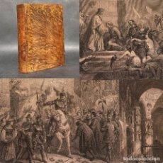 Libros antiguos: 1862 - HISTORIA DE ESPAÑA - DESCUBRIMIENTO DE AMERICA - REYES CATOLICOS - GRABADOS. Lote 289216223