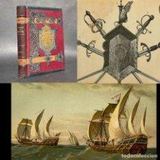 Libros antiguos: 1889 - CONQUISTA DE GRANADA - REYES CATOLICOS - DESCUBRIMIENTO DE AMERICA - ILUSTRADO. Lote 289221483