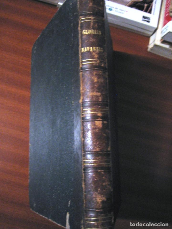 Libros antiguos: GLORIAS NAVARRAS- 1866- JOSE NADAL DE GURREA - Foto 2 - 289876993