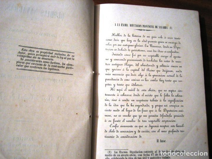 Libros antiguos: GLORIAS NAVARRAS- 1866- JOSE NADAL DE GURREA - Foto 4 - 289876993