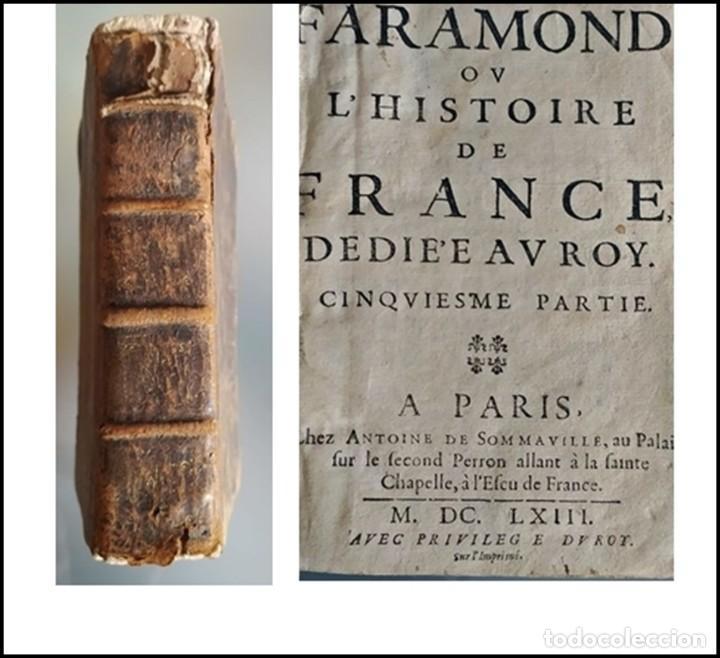 AÑO 1663. LIBRO 358 AÑOS DE ANTIGÜEDAD (Libros antiguos (hasta 1936), raros y curiosos - Historia Antigua)