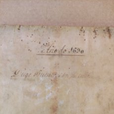 Libros antiguos: ANTIGUO LIBRO DE 1690 ARTE NUEVO DE ENSEÑAR A LEER, ESCRIBIR Y CONTAR PRÍNCIPES Y SEÑORES. Lote 294052393