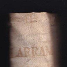 Libros antiguos: MANUEL DE LARRAMENDI: DISCURSO HISTÓRICO SOBRE LA ANTIGUA FAMOSA CANTABRIA. 1736. PAÍS VASCO. Lote 295947138