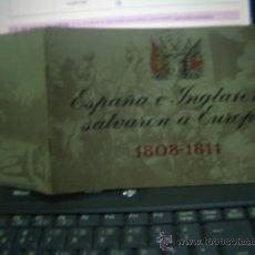 Libros antiguos: ESPAÑA E INGLATERRA SALVARON A EUROPA 1808-1814- CAJA Nº3. Lote 18136992