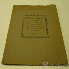 Libros antiguos: OBRA SOCIAL-SINDICALISMO-OBRERISMO-FLITARURAS DE FABRA Y COATS-1916. Lote 19174804