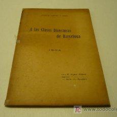 Libros antiguos: OBRERISMO-PROTECCION SOCIAL. Lote 19174880