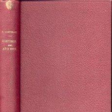 Libros antiguos: HISTORIA DEL AÑO 1884 – AÑO 1884. Lote 27569659