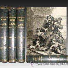 Libros antiguos: 1870 - LUCHAS SOCIALES - MENDIGOS Y LADRONES - 4 TOMOS - LAMINAS. Lote 22414859