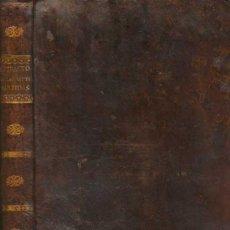 Libros antiguos: 1808: EXTRACTO DE LAS LEYES DE LAS SIETE PARTIDAS. Lote 22488993