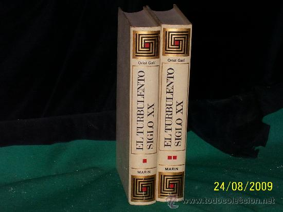 LIBRO,EL TURBOLENTO SIGLO XX. EN (Libros antiguos (hasta 1936), raros y curiosos - Historia Moderna)
