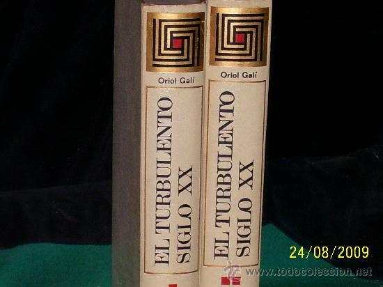 Libros antiguos: LIBRO,EL TURBOLENTO SIGLO XX. EN - Foto 2 - 22815452
