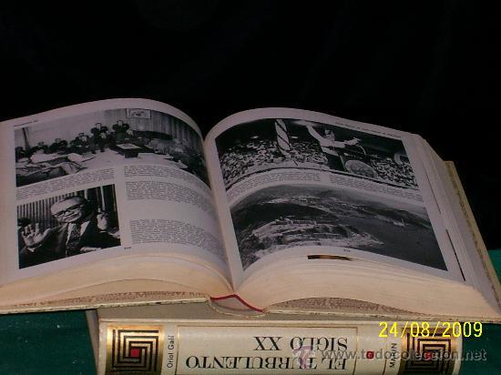 Libros antiguos: LIBRO,EL TURBOLENTO SIGLO XX. EN - Foto 3 - 22815452