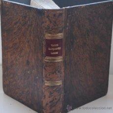 Libros antiguos: AÑO 1722.- VARIOS ELOQUENTES LIBROS RECOGIDOS EN UNO. HISTORIA DEL SIGLO XVIII.. Lote 26101527
