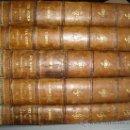 Libros antiguos: 1886,EL CENTENARIO DEL SIGLO XIX,EMILIO CASTELAR,BARCELONA,MARIANO SOLÁ,ESPECTACULAR,5 TOMOS,!!!. Lote 28148169
