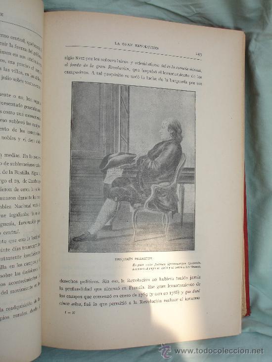 Libros antiguos: LA GRAN REVOLUCION. HISTORIA DE LA REVOLUCION FRANCESA 1789-1793 de KROPOTKINE anarquismo - Foto 6 - 28960515