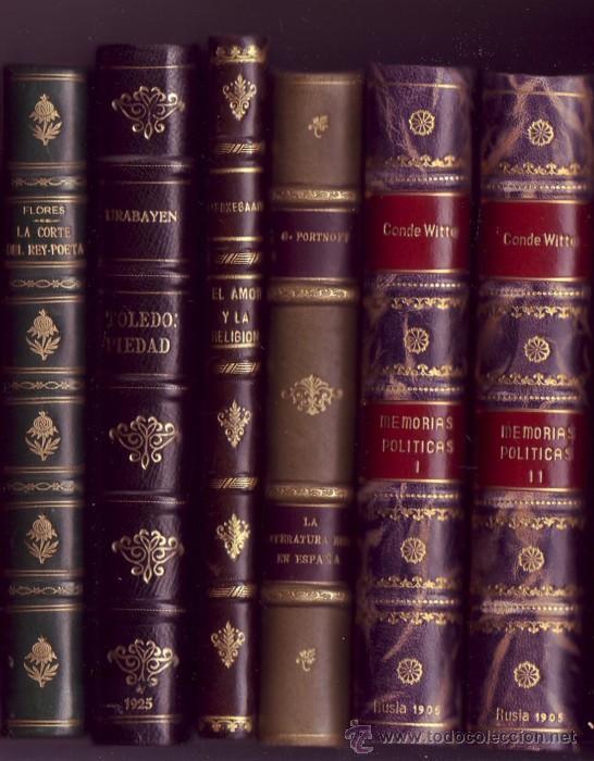 Libros antiguos: Lomo 1º de izq. a dcha. - Foto 2 - 29732083